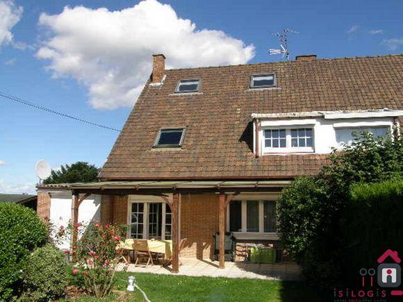Thumeries, Maison à louer de 125m² habitables,900€.