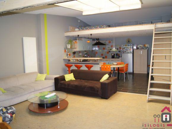 loft vendre carvin maison vente carvin. Black Bedroom Furniture Sets. Home Design Ideas